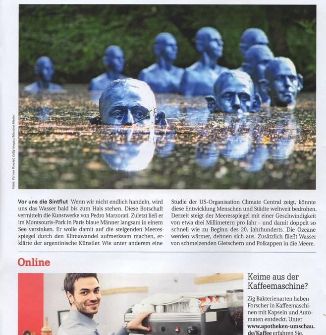 Publication sur la Revue allemande: Apotheken Umschau
