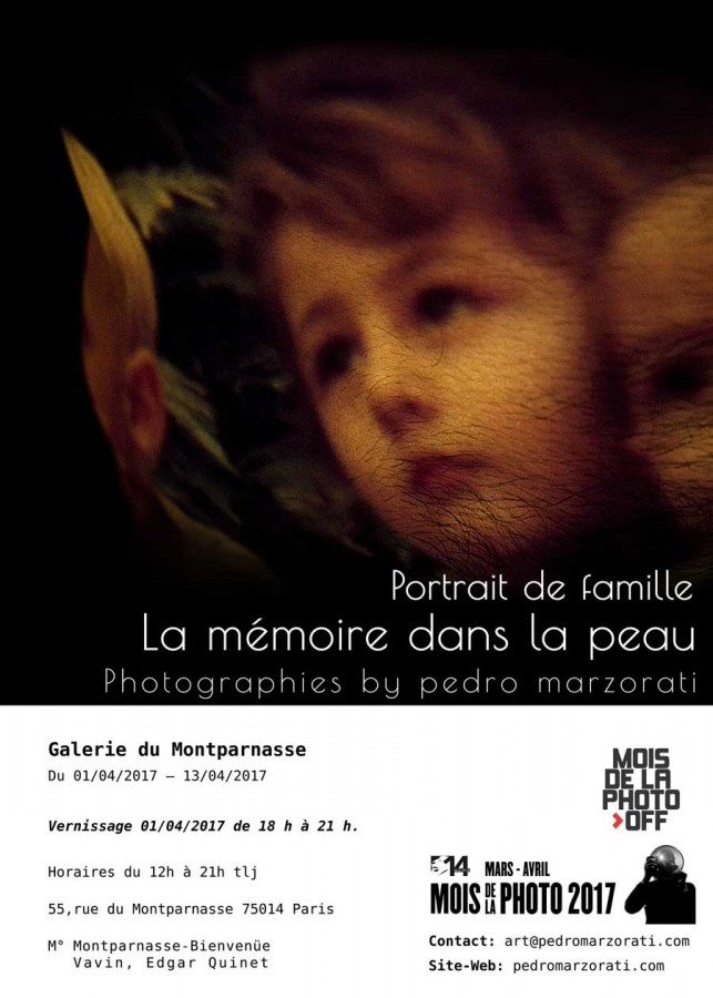 Invitation_Mois de la photo 2017. Photographies by Pedro Marzorati
